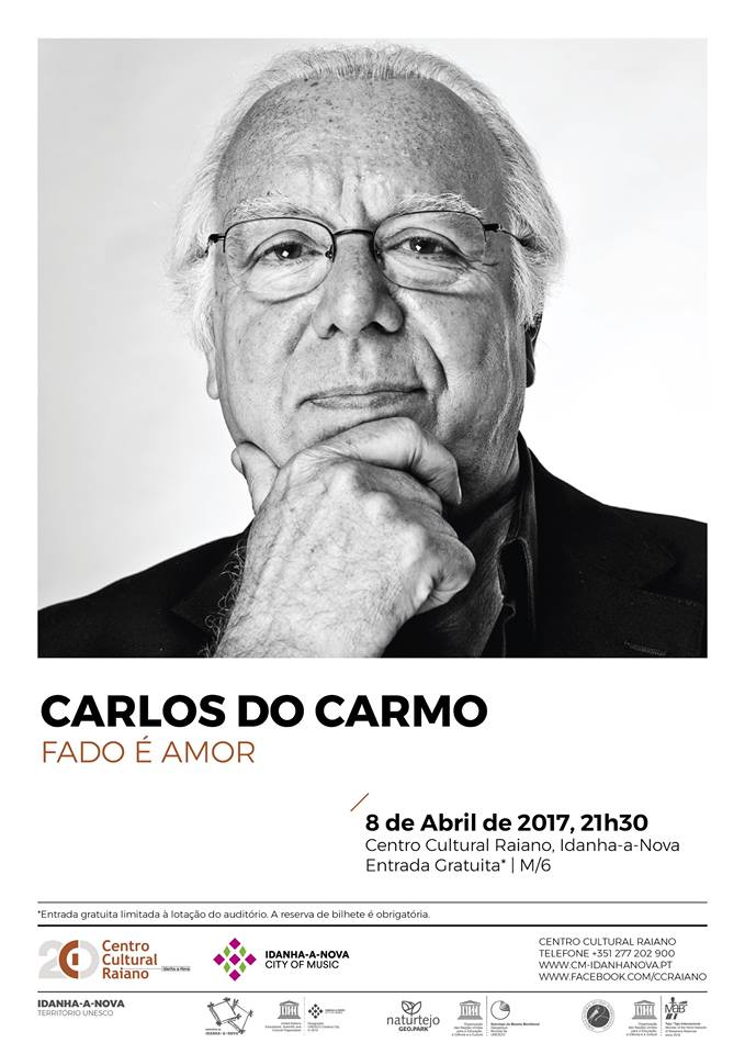 Carlos Do Carmo 2017 Cartaz