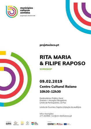 Rita Maria & Filipe Raposo - Workshop