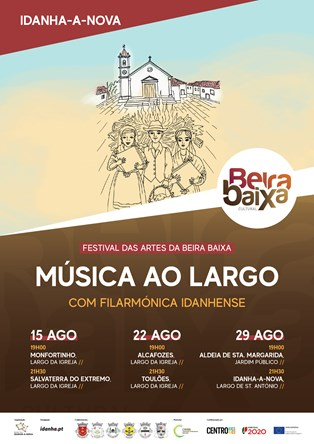Cartaz _Música Ao Largo